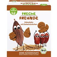 Freche Freunde BIO Kakaové sušienky s kúskami datlí 125 g