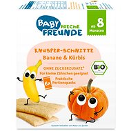 Freche Freunde BIO Chrumkavé oplátky – Banán a tekvica 6× 14 g