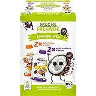 Freche Freunde BIO MIX – Jablko, mango s kokosom a Černica s banánom 4× 100 g - Príkrm