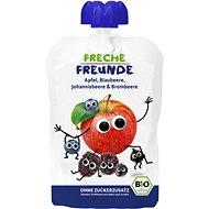 Freche Freunde BIO Kapsička Jablko, čučoriedka, čierne ríbezle a černica 100 g - Príkrm