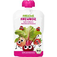 Freche Freunde ORGANIC Pocket Apple, Beetroot, Strawberry and Raspberry 100g - Baby Food