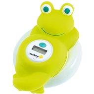 SAFETY 1st Teplomer digitálny do vane žaba White and Lime - Teplomer do vody