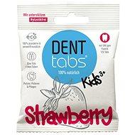 DentTabs detská zubná pasta v tabletách s fluoridom jahoda 125 ks