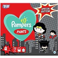 PAMPERS Pants veľ. 4 (72 ks) 9 – 15 kg - Plienkové nohavičky
