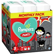 PAMPERS Pants, veľ. 5, (132 ks), 12 – 17 kg - Plienkové nohavičky