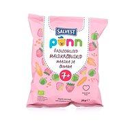 SALVEST Ponn BIO Jahodové křupky (20 g) - Chrumky pre deti