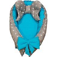 BabyTýpka Maxi hniezdo – Stars Blue