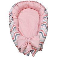 BabyTýpka hniezdo – Chevron Pink