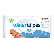 Waterwipes 100% ORGANIC Degradable Wipes 60 pcs - Baby Wet Wipes