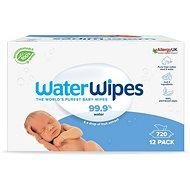 Waterwipes 100 % BIO odbúrateľné obrúsky 12× 60 ks - Detské vlhčené obrúsky
