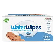 Waterwipes 100% ORGANIC Degraded Napkins 9 × 60 pcs - Baby Wet Wipes