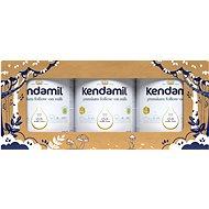 Kendamil pokračovacie mlieko 2 DHA+ (3× 900 g), rozprávkové balenie s darčekom a farmou - Dojčenské mlieko