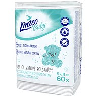 LINTEO BABY Vatové čistiace vankúšiky 60 ks - Odličovacie tampóny