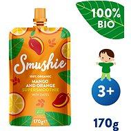 SALVEST Smushie BIO Ovocné smoothie s mangom, pomarančom a datľami (170 g)
