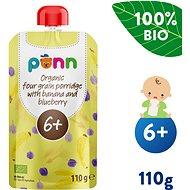 SALVEST Ponn BIO Banán s čučoriedkami a obilnými vločkami (110 g)