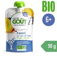 Good Gout BIO Vanilkový jogurt s hruškou (90 g) - Príkrm