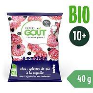 Good Gout BIO Mini rýžové koláčky s borůvkami (40 g)