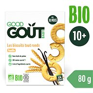 Good Gout BIO Vanilkové kolieska (80 g)