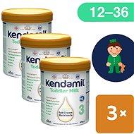 Kendamil dojčenské mlieko 3 DHA+ (3× 800 g) - Dojčenské mlieko