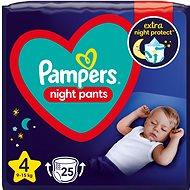 PAMPERS Night Pants size 4 (25 pcs)