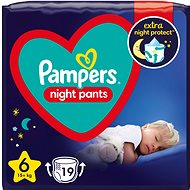 PAMPERS Night Pants size 6 (19 pcs)