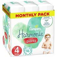 PAMPERS Pants Harmonie veľ. 4 (4× 24 ks) - Plienkové nohavičky