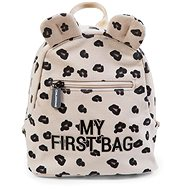 CHILDHOME My First Bag Canvas Leopard - Backpack