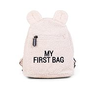CHILDHOME My First Bag Teddy Off White - Backpack