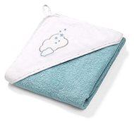 BabyOno Terry Towel with Hood 100 × 100cm, Blue
