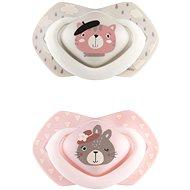 Canpol babies BONJOUR PARIS 18m+ 2 pcs pink