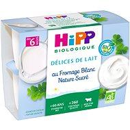 HiPP BIO Mliečny dezert tvarohový 6× (4× 100 g) - Príkrm