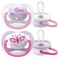 Philips AVENT Ultra air Text 0-6m girl, 2 pcs