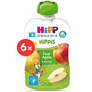 HiPP Organic Hippies Capsule Pear - Apple 6×100g