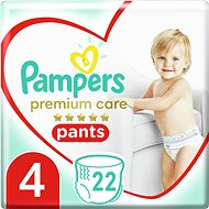 PAMPERS Premium Pants Carry Pack veľ. 4 (22 ks) - Plienkové nohavičky