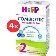 HiPP 2 BIO Combiotik – 4× 600 g - Dojčenské mlieko