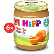 Príkrm HiPP BIO Marhule - 6x 125g