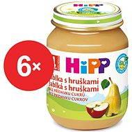 HiPP BIO Jablká s hruškami - 6x 125g - Detský príkrm