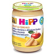 HiPP BIO Jablká a banány s detskými keksami - 6x 190g - Detský príkrm