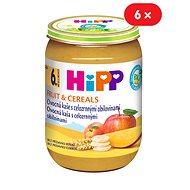 HiPP BIO Ovocná kaša s celozrnnými obilninami - 6x 190g - Detský príkrm