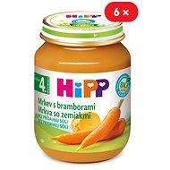 HiPP BIO Karotka so zemiakmi – 6× 125 g - Detský príkrm