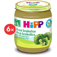 HiPP BIO Prvá brokolica – 6× 125 g - Detský príkrm