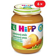 HiPP BIO Zeleninová zmes - 6x 125g - Príkrm