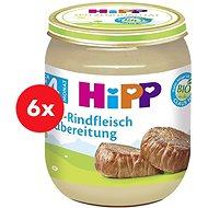 HiPP BIO Hovädzie mäso – 6× 125 g - Detský príkrm