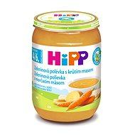 HiPP BIO Zeleninová polievka s morčacím mäsom - 6x 190g