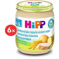 HiPP BIO Zemiakové pyré s kukuricou a morčacím mäsom – 6× 125 g - Detský príkrm
