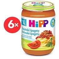 HiPP BIO Špagety v bolonskej omáčke - 6x 190g - Detský príkrm