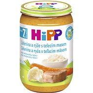 HiPP BIO Zelenina s ryžou a teľacím mäsom – 6× 220 g