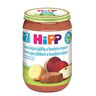 HiPP BIO Červená repa s jablkami a hovädzím mäsom – 6× 220 g - Detský príkrm