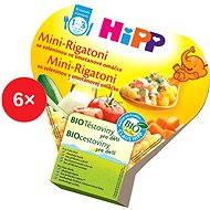 HiPP BIO Mini-Rigatoni so zeleninou v smotanovej omáčke – 6× 250 g - Detský príkrm