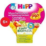 HiPP BIO Cestoviny s paradajkami a cuketou - 6x 250g - Detský príkrm